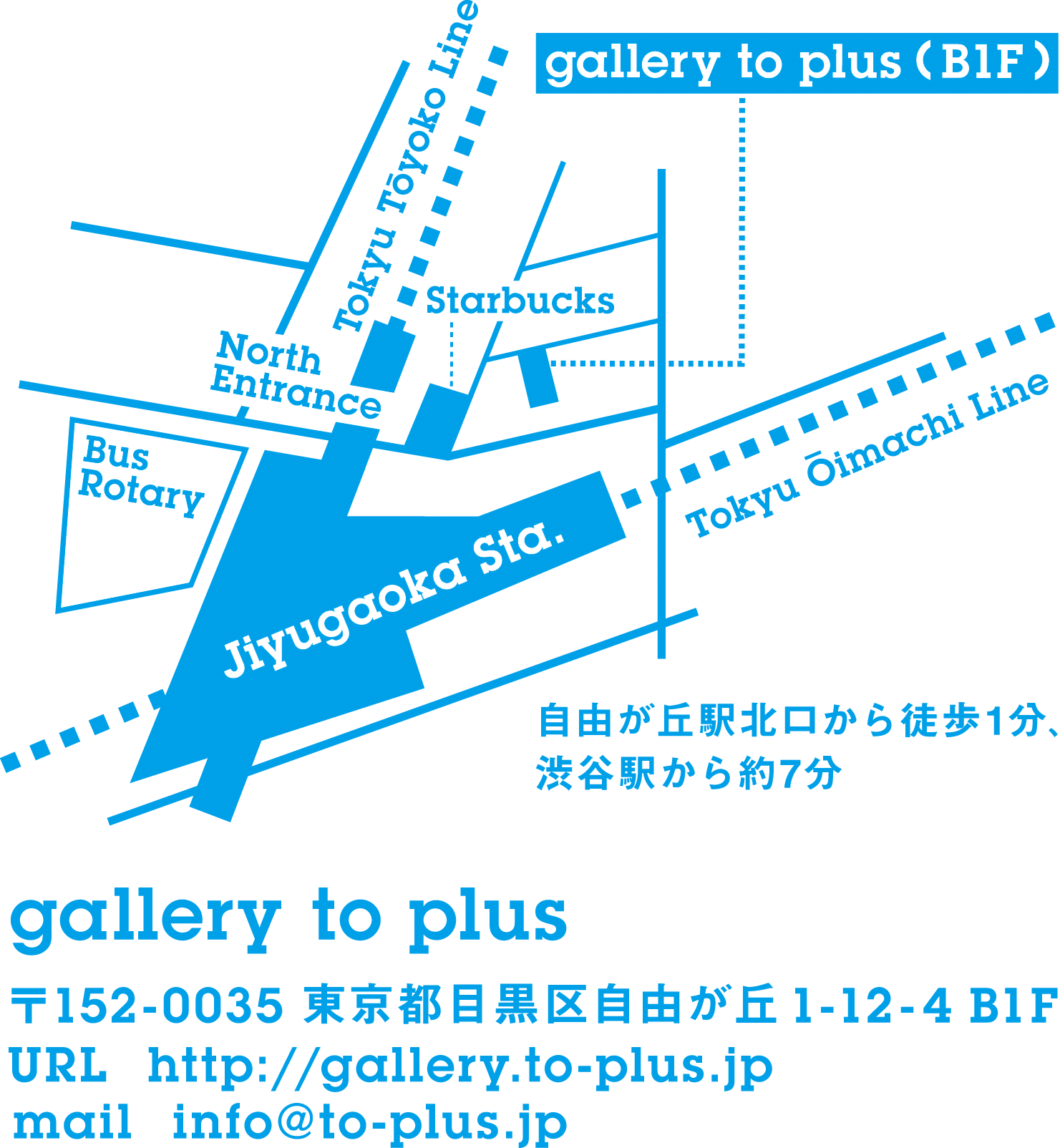 gallery to plus map
